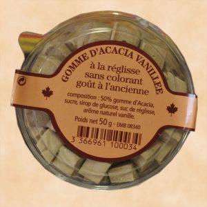 Gomme d'acacia vanillée