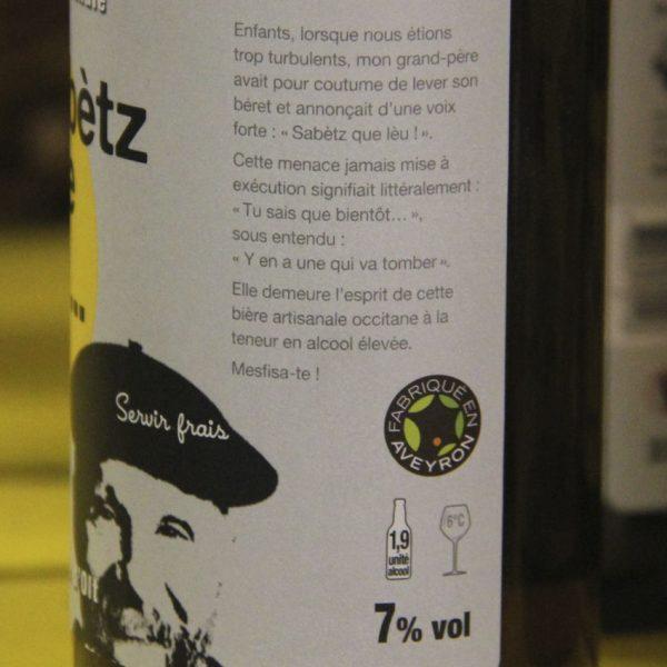 Bières artisanales de l'Aveyron