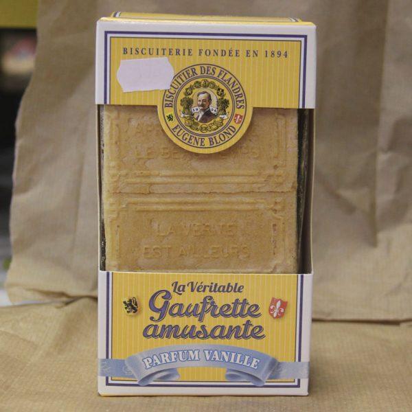 Gaufrettes amusantes à la vanille