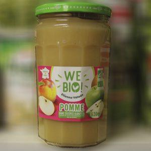 Purée de pommes biologique Wee Bio